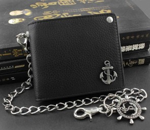 Mens Wallet With Chain